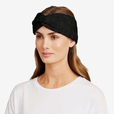 Estelle Knit Turban  BLACK  hi-res