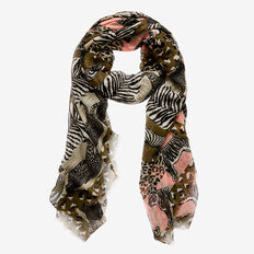 Animal Parade Scarf  MULTI  hi-res
