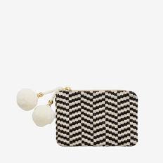 Bonnie Coin Purse  BLACK/WHITE  hi-res