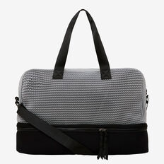 Workout Bag  BLACK/MID GREY MARLE  hi-res