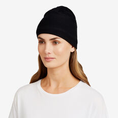 Sports Beanie  BLACK  hi-res