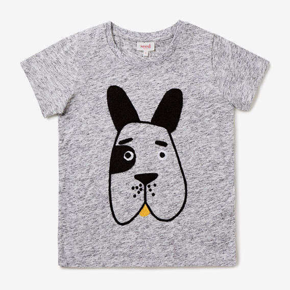 Dog Tee  VINTAGE SPACE DYE  hi-res