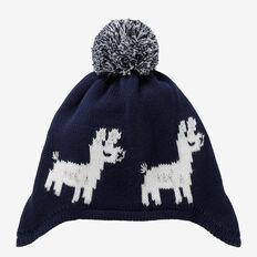 Llama Beanie  MIDNIGHT BLUE  hi-res