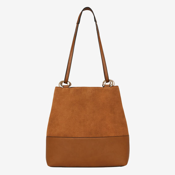 Caitlin Ring Detail Bag  TAN  hi-res