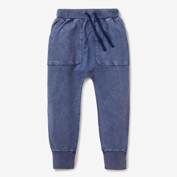 Harem Track Pant  BLUE WASH  hi-res
