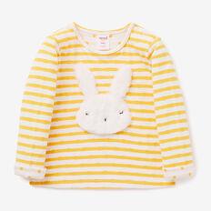 Fluffy Bunny Tee  SUNFLOWER  hi-res