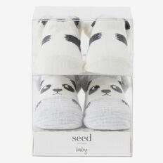 Panda Sock Gift Box  VANILLA  hi-res