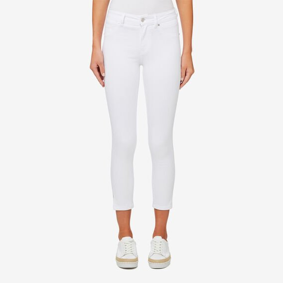Side Split Jean  WHISPER WHITE  hi-res