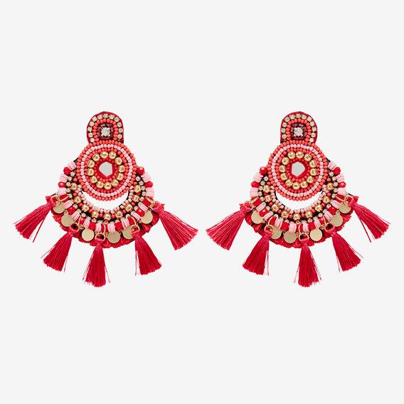 Fiesta Tassel Earrings  MULTI  hi-res