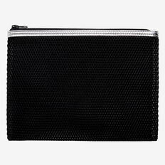 Mesh Zip Case  BLACK  hi-res