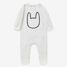 Novelty Bunny Jumpsuit  CANVAS  hi-res