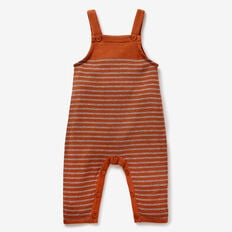 Toffee Knit Overalls  TOFFEE  hi-res