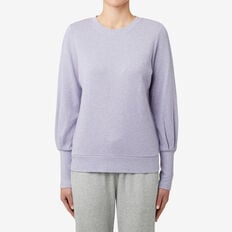 Blouson Sleeve Sweater  WISTERIA MARLE  hi-res
