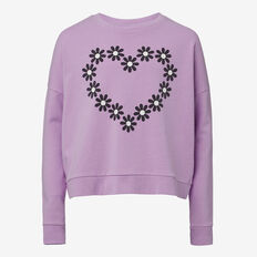 Daisy Windcheater  DEEP LILAC  hi-res