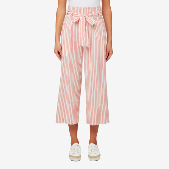 Micro Stripe Pant  DUSTY RED STRIPE  hi-res