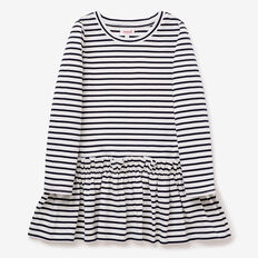 Stripe Dress  NAVY  hi-res