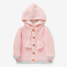 Lurex Cardigan  ICE PINK  hi-res