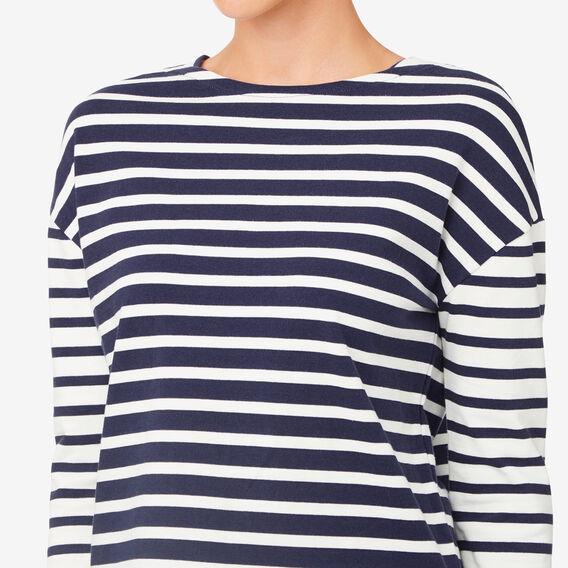 Stripe 3/4 Sleeve Tee  MULTI STRIPE  hi-res