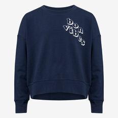 Bon Vibes Sweater  DARK NAVY  hi-res