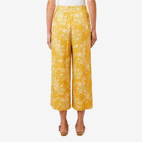 Floral Drape Pant  HONEY FLORAL  hi-res