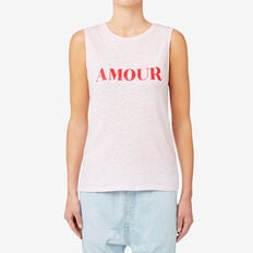 Amore Muscle Tank  LIGHT PINK  hi-res