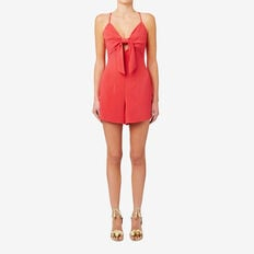 Peek-A-Boo Playsuit  CRIMSON  hi-res