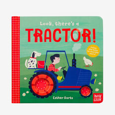 Look There's A Tractor Book  MULTI  hi-res