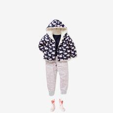 Swan Puffa Jacket  MULTI  hi-res