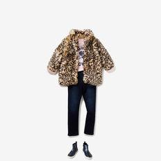Faux-Fur Coat  OCELOT  hi-res