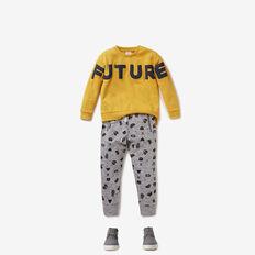 Future Past Sweater  DARKER MUSTARD  hi-res