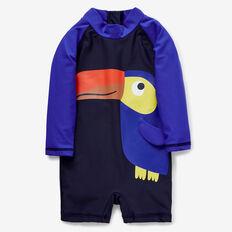 Toucan Rashie Suit  MIDNIGHT BLUE  hi-res