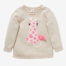 Animal Sweater  OAT  hi-res