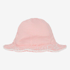 Seersucker Swim Hat  MELON  hi-res