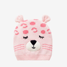 Leopard Beanie  ICE PINK  hi-res