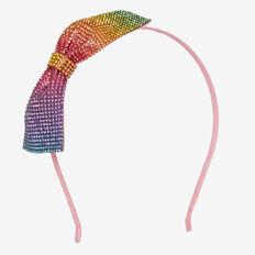 Ocelot Bow Headband  MULTI  hi-res