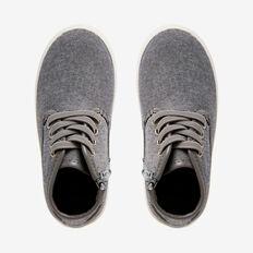 Grey Canvas Hightop  GREY  hi-res