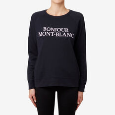 Bonjour Sweater  DEEP NAVY  hi-res