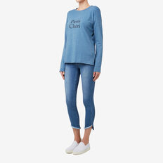Paris Cheri Top  DENIM MARLE  hi-res