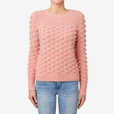 Pom Pom Sweater  SOFT BLUSH  hi-res