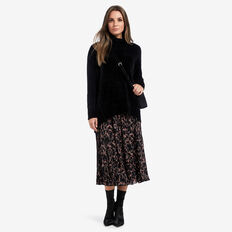 Lofty Roll Neck Sweater  BLACK  hi-res