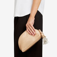 Tassel Dome Pouch  ROSE GOLD  hi-res