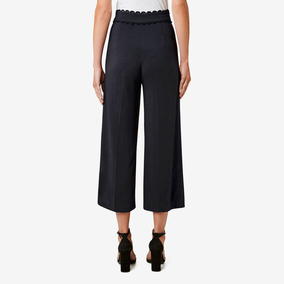 Scallop Trim Pant  DEEP NAVY  hi-res