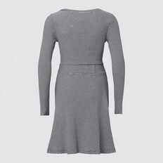 Ribbed Dress  MIDNIGHT MINI STRIPE  hi-res