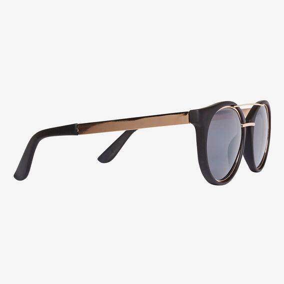 Sophie Round Sunglasses  BLACK  hi-res