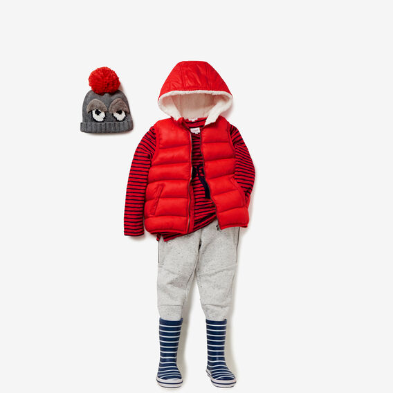 Puffa Vest  BRICK RED  hi-res