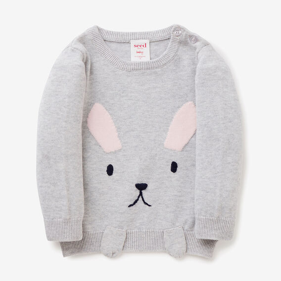 Bunny Paw Sweater  CLOUD  hi-res