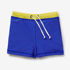 Colour Block Swim Short  BLUE BOLT  hi-res
