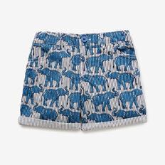 Elephant Yardage Short  DUSTY BLUE  hi-res