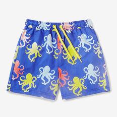 Octopus Colour Change Boardie  BLUE BOLT  hi-res