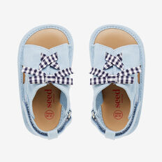 Gingham Sandal  CHAMBRAY  hi-res